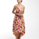 LADIES WAX PRINT DRESS