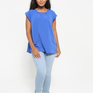 LADIES CAP SLEEVE TOP